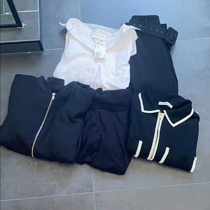 5 PEICE WORK CLOTHES BUNDLE